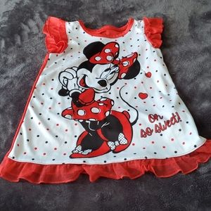 Oh So Sweet Minnie Mouse nightgown